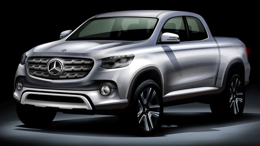 Mercedes pickup will not be sold in North America