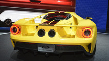 Ford GT concept with yellow livery