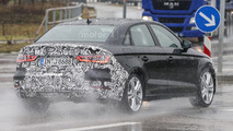 Audi A3 facelift spied with an A4-inspired front fascia