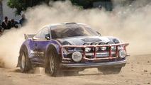 Porsche 911 rally car