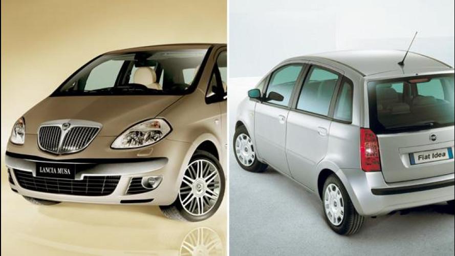 Fiat Idea e Lancia Musa: quasi 1.000 offerte nell'usato