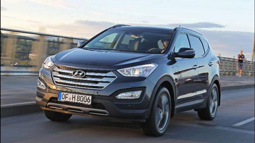 Hyundai Santa Fe, spazio, interni raffinati e nessuna fretta