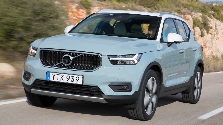 Volvo XC40: Marktstart mit fünf Motoren