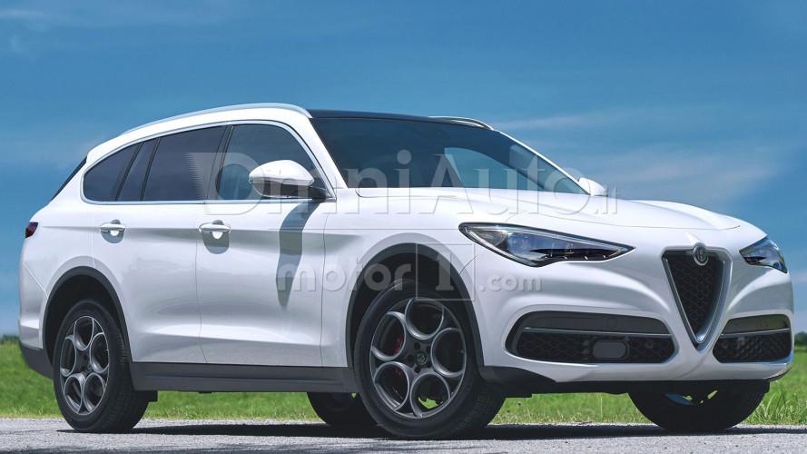 Alfa Romeo, il SUV grande sarà anche ibrido