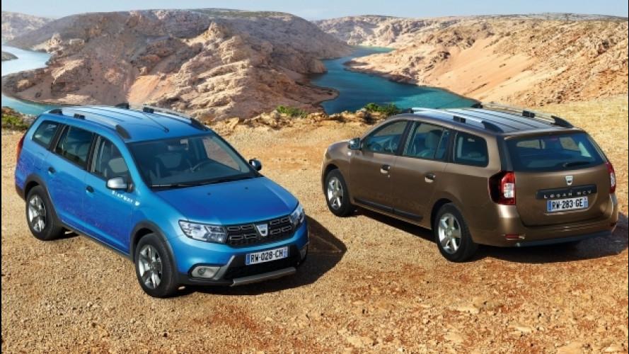 Dacia Logan MCV, ora è anche Stepway