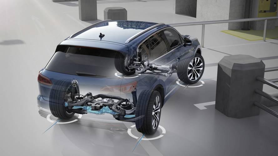 VW, yeni Touareg'in 4 tekere etki eden direksiyonunu açıklıyor