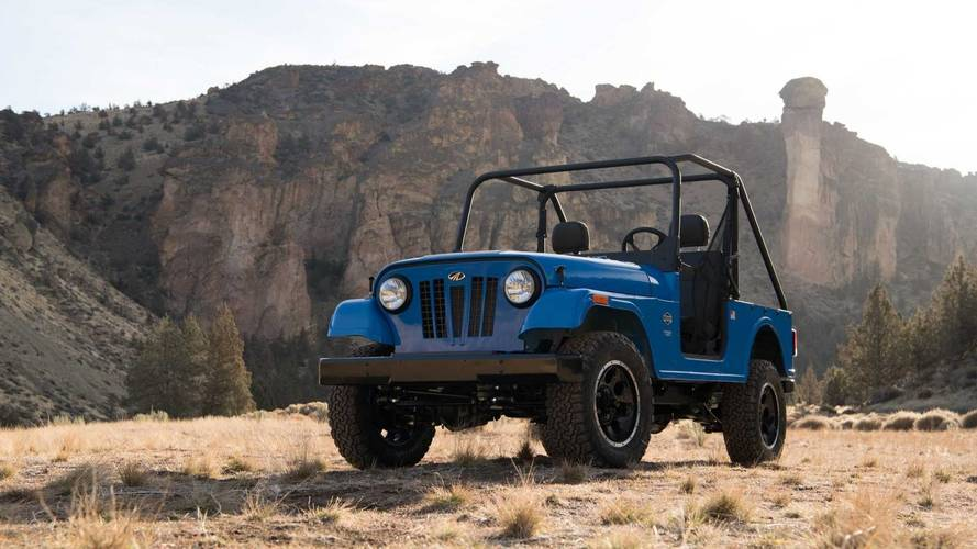 Mahindra Roxor Channels Original Jeep CJ, Is Made In The U.S.A.
