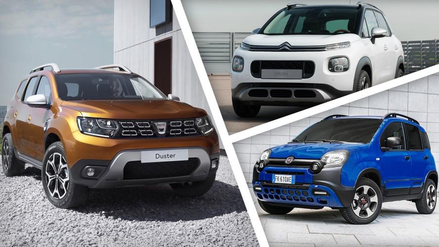 I 10 SUV e crossover più economici del mercato