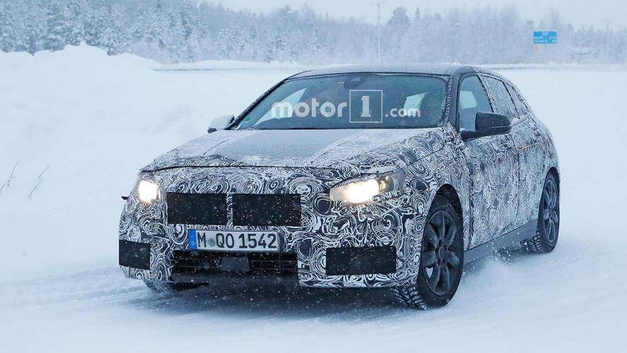 BMW 1 Series Spied During Cold-Weather Development