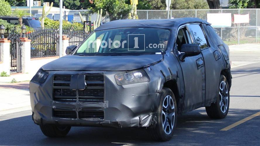 Next Toyota Rav4 Spied For First Time Looks Brawny