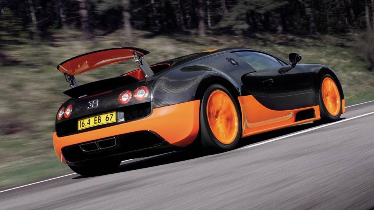 Bugatti Veyron Super Sport - 268 mph