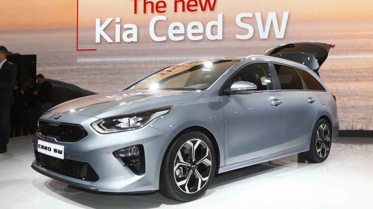 Kia Ceed Sportswagon - 2018 Cenevre Otomobil Fuarı