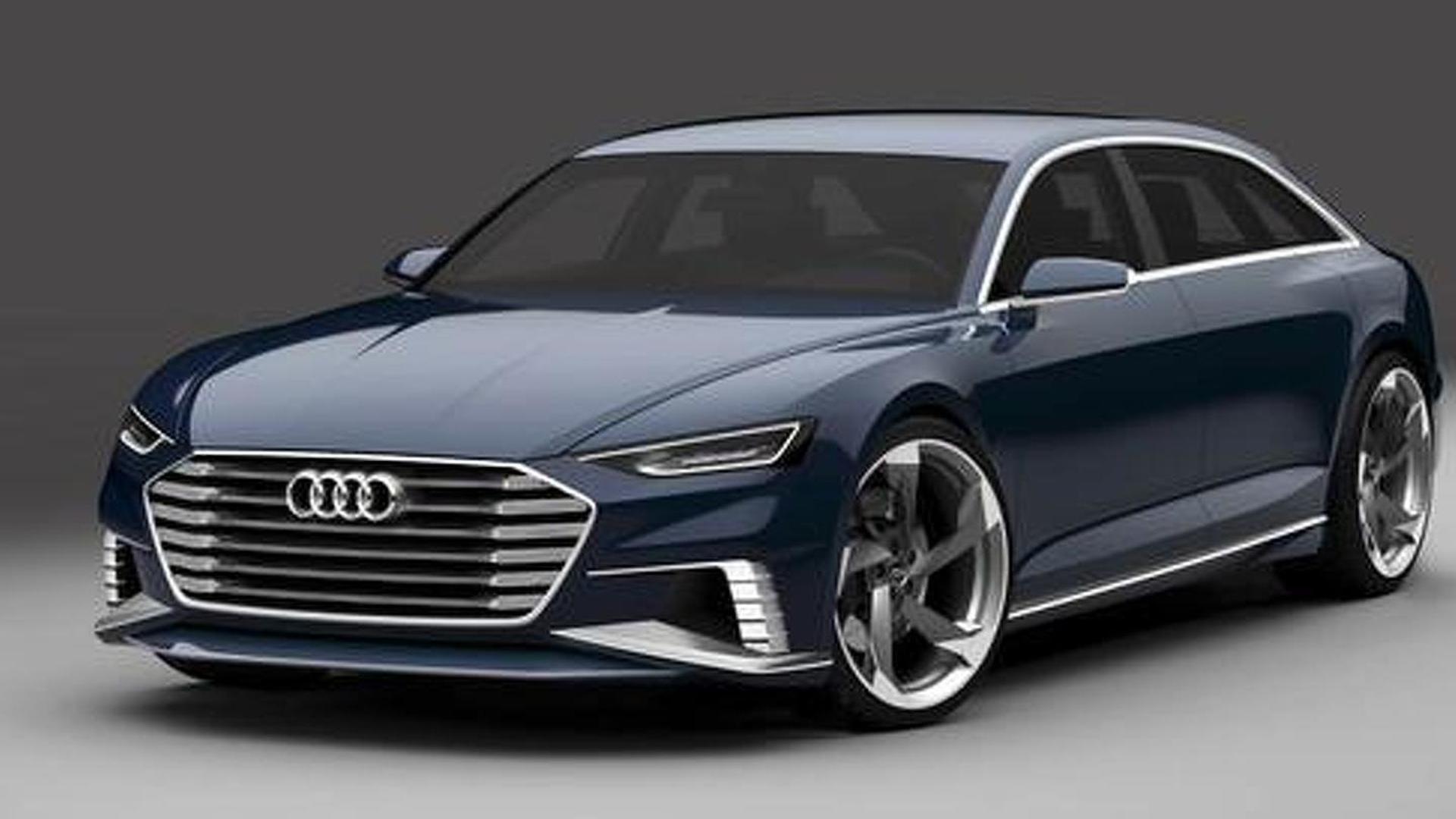 Официальный рендер Audi Prologue Avant