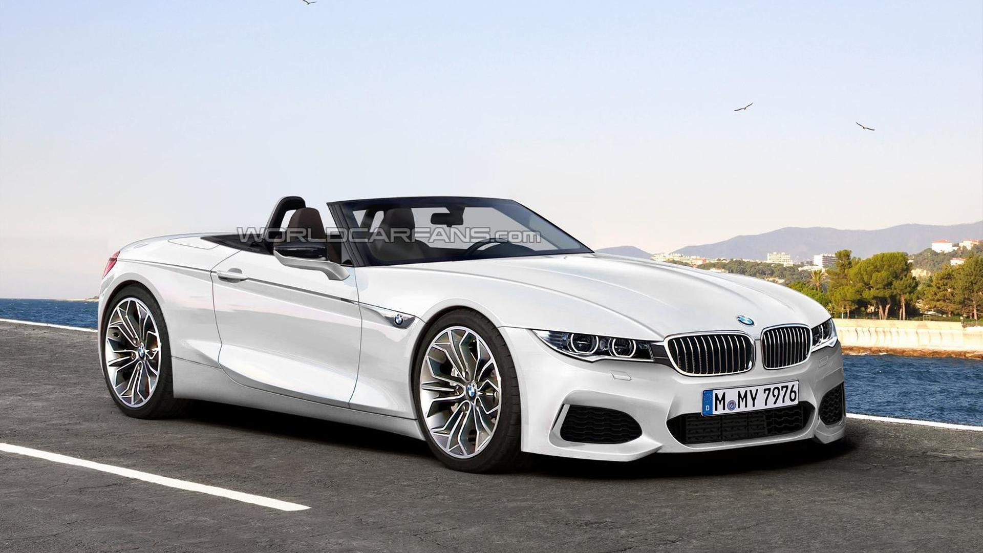 BMW Z5 digitally imagined