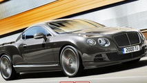 Bentley Continental GT Speed pick-up rendering / X Tomi