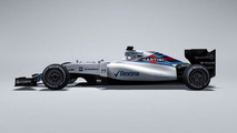 Williams the first to reveal 2015 car, shown on magazine cover