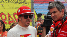 Fernando Alonso (ESP) with Marco Mattiacci (ITA), 11.05.2014, Spanish Grand Prix, Barcelona / XPB