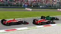 Caterham and Marussia race cars / XPB