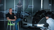 Koenigsegg One:1 at Suzuka circuit