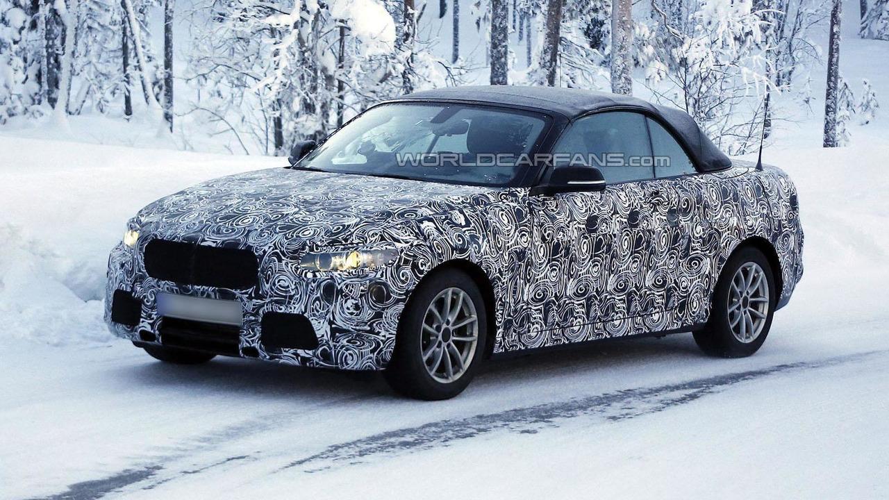 2014 BMW 2-Series Convertible spy photo 12.2.2013