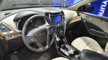 2013 Hyundai Santa Fe live at LA Auto Show 29.11.2012