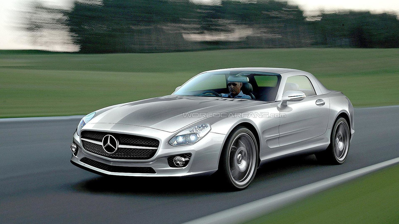 Mercedes-Benz SLC speculative artist rendering 2010