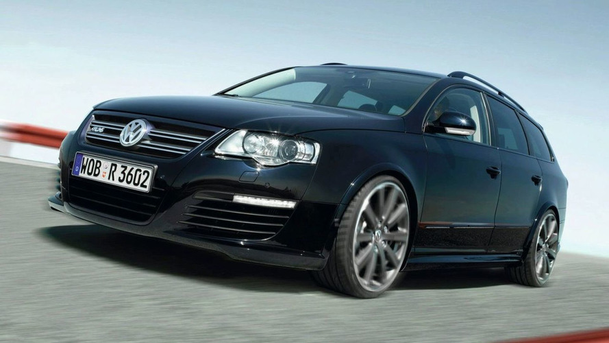 VW Passat R36 Styling Study in Worthersee