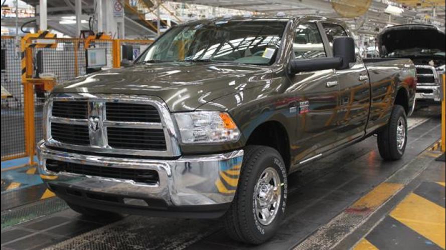 Ram 2500 CNG: al via la produzione del pick-up a metano