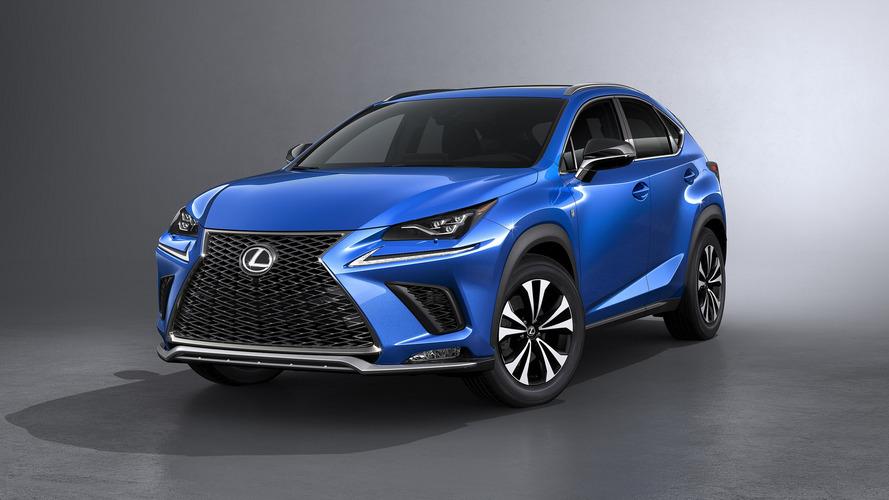 Lexus NX 2017, SUV híbrido actualizado