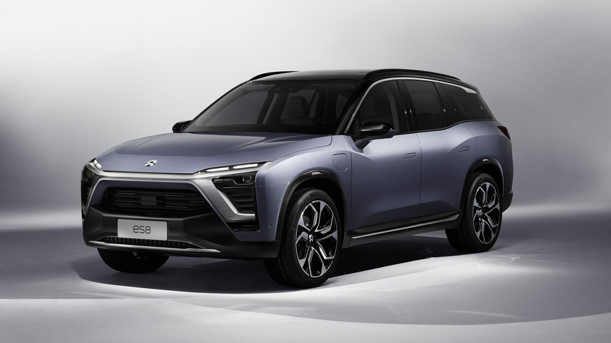 NIO ES8 Electric SUV Taking On Tesla Model X From Early 2018