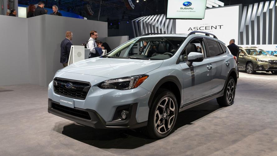 2018 Subaru Crosstrek Gets More Power, Fresh Look For New York
