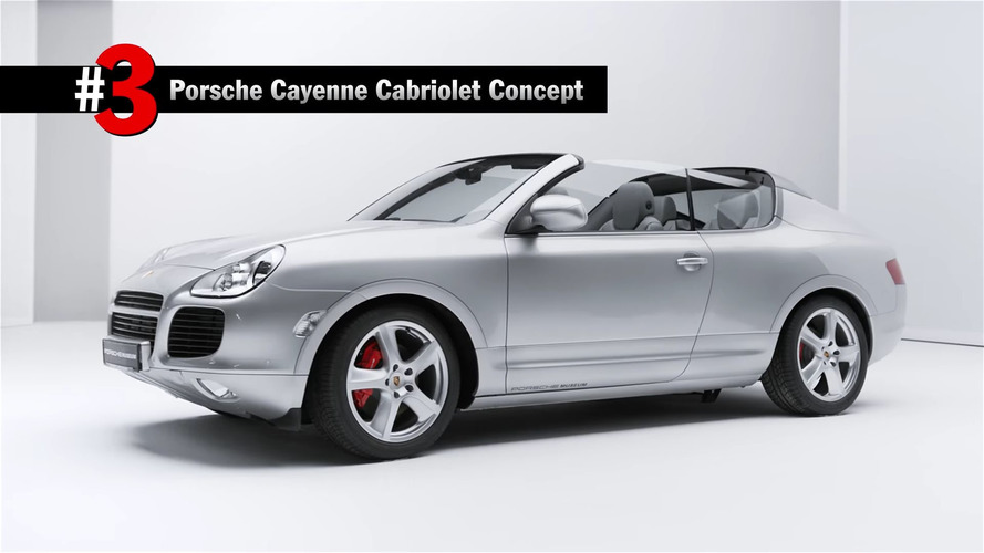 Porsche'nin en ilginç 5 konsepti