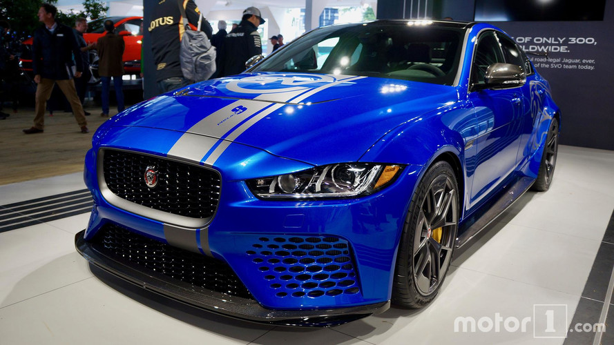 Jaguar XE SV Project 8 To Make North American Debut In Monterey
