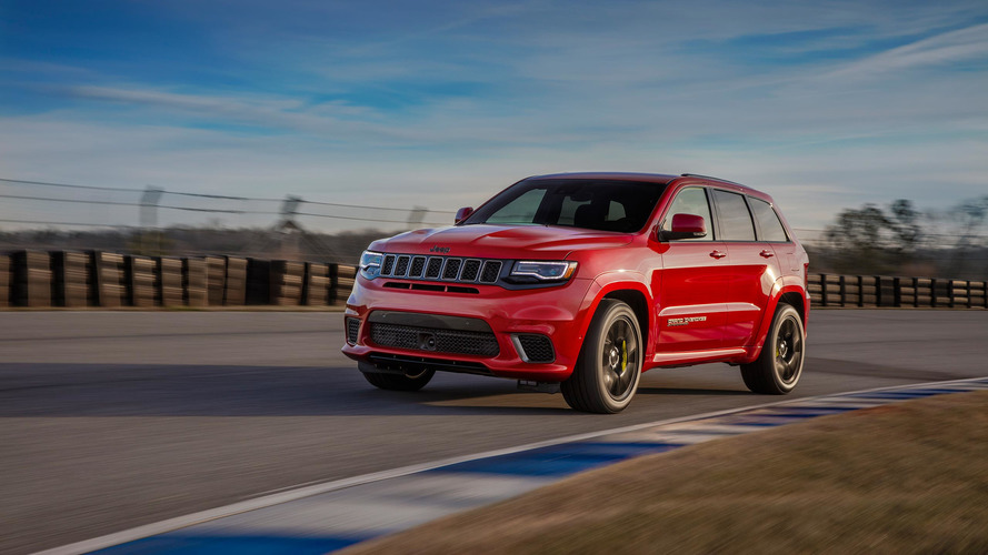 The Jeep Grand Cherokee Trackhawk Is Quicker Than These 10 Cars