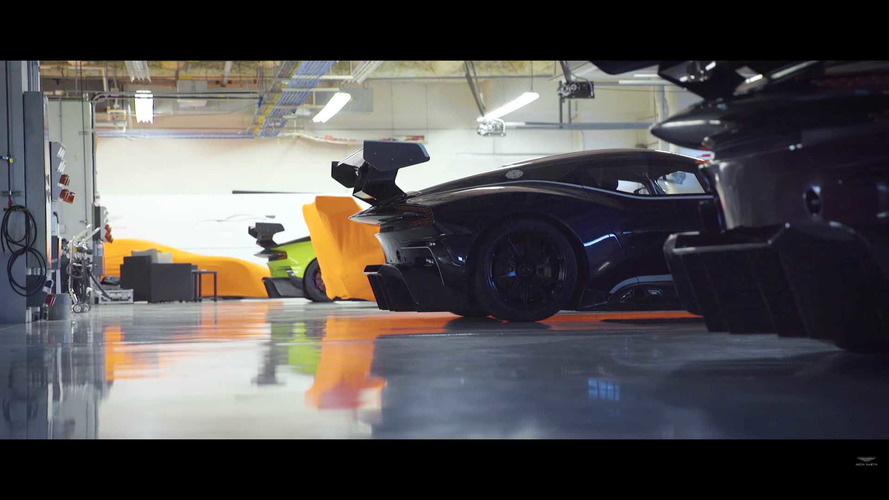 Aston Martin Vulcan'lar Circuit of the Americas'da