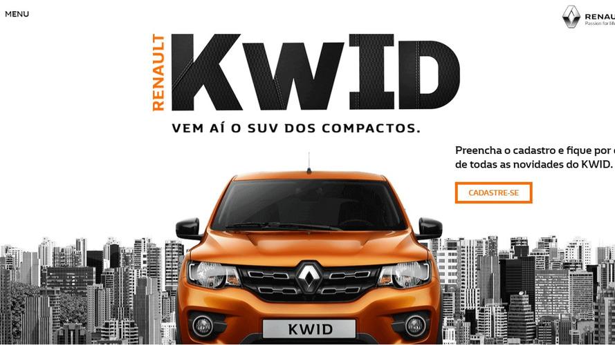 Renault Kwid nacional terá preços divulgados no dia 15 de maio