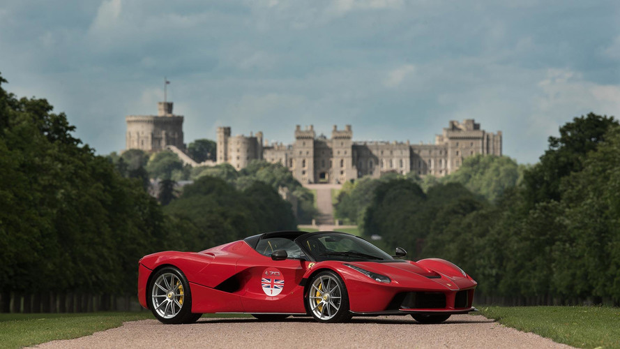 Ferrari LaFerrari Aperta, bu yaz İngiltere turuna çıkacak