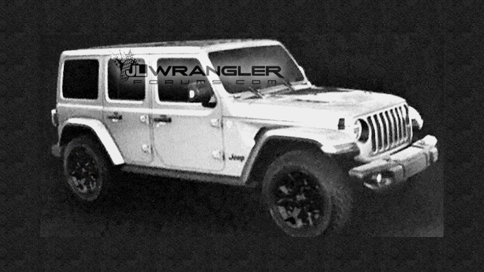 2018 Jeep Wrangler Unlimited Images Leak Showing Removable ...