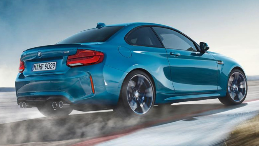 2018 BMW M2 facelift