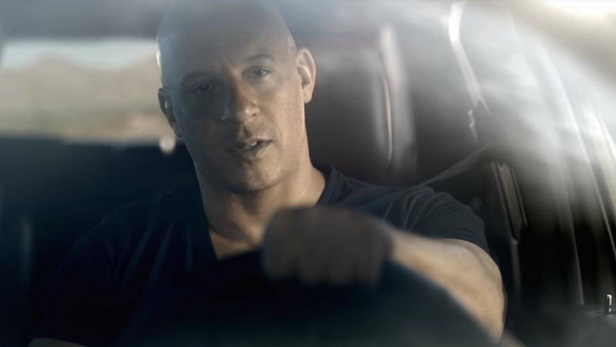 Vin Diesel Flexes His Muscle In New Dodge SRT Commercials