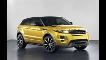 Salão de Bruxelas: Range Rover Evoque ganha edição limitada Sicilian Yellow