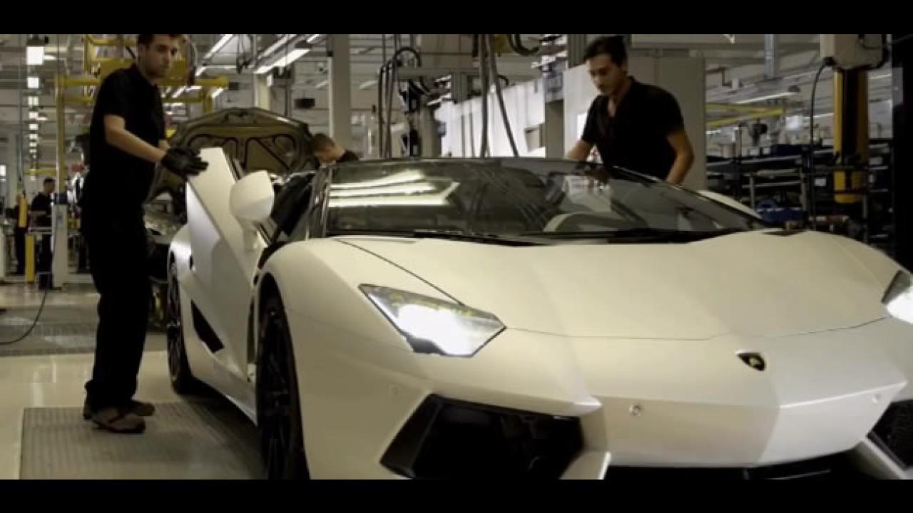 Lamborghini divulga vídeo-teaser de seu aniversário de 50 anos
