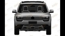 Versão de produção do VW Taigun é patentada na China
