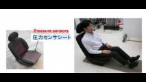 """Cientistas japoneses desenvolvem assento que reconhece motorista pelo """"traseiro"""""""