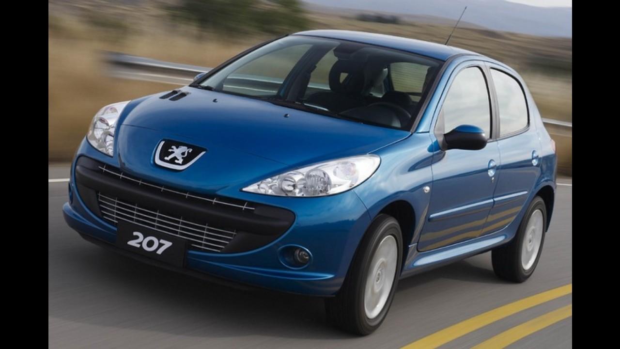 Peugeot 207 Blue Lion chega este mês por R$ 29.990 com consumo de até 15,0 km/l