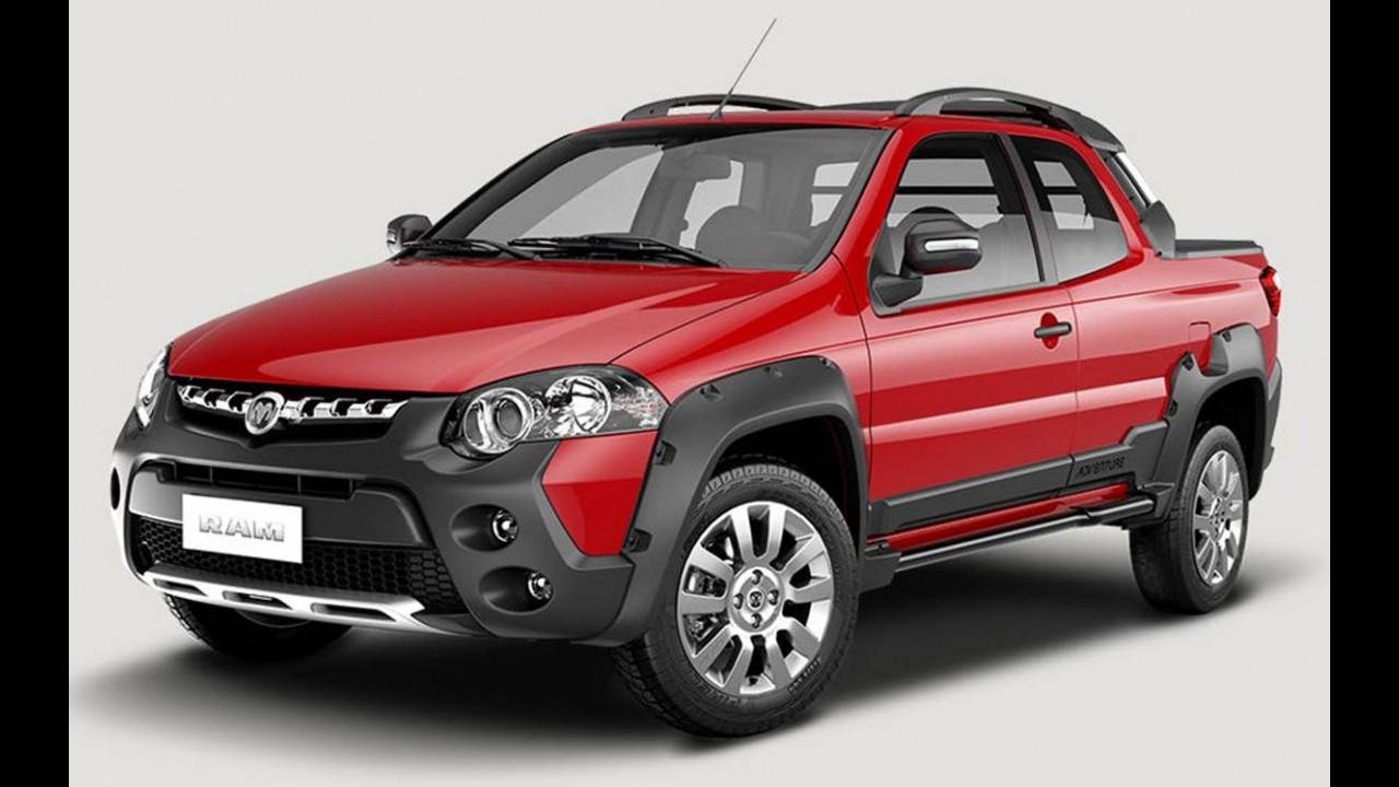 Fiat retoma exportações para o México com versões de Palio e Strada
