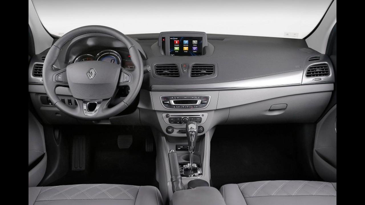 Renault Fluence 2015 chega com novo visual e mais itens por R$ 66.890