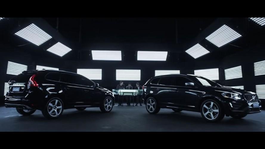 Vídeo: Volvo XC60 vira pincel de luz em obra de arte