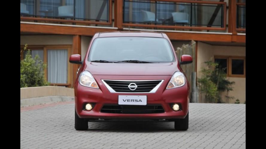 Nissan cresce quase 90% no Brasil em 2011