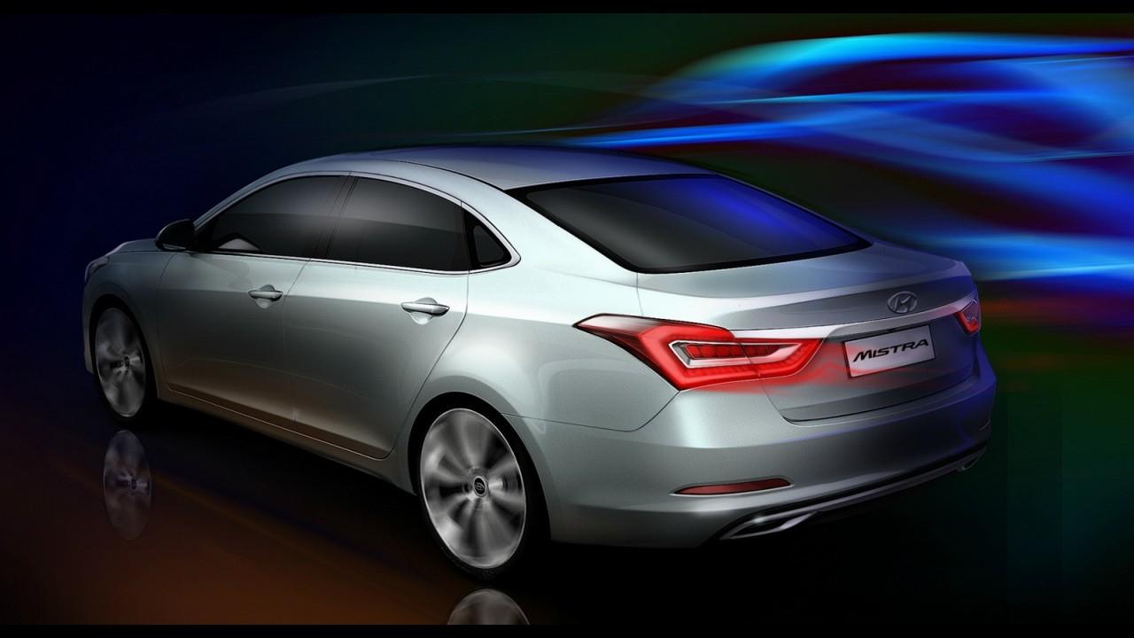 Xangai: Mistra Concept é Hyundai, mas visual lembra os Kia